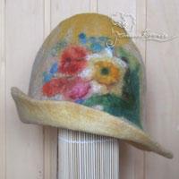 шляпа из войлока