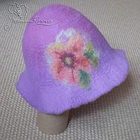 шапка для сауны