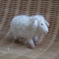 валяная овечка, войлок
