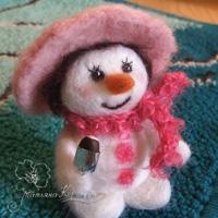 валяный снеговичок, эскимо