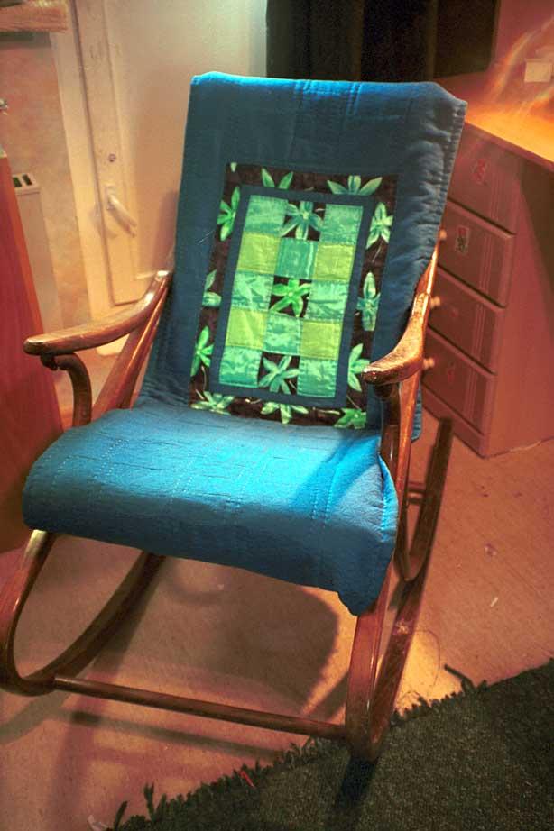 Сшить своими руками накидку для кресла