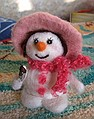 снеговик, валяние, эскимо
