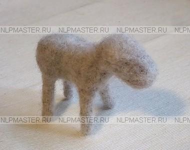 ослик, войлок, шерсть, мастер класс по валянию ослика